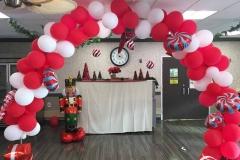 Christmas-Balloon-Arch-Nursing-Home-Event-1