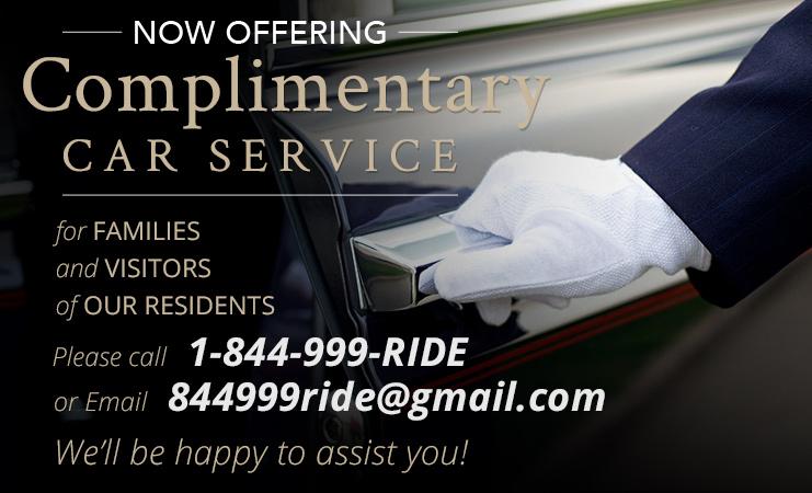 Car Service Available